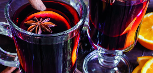 Mulled wine for power